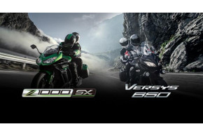 Free Tourer Upgrade when you buy a new Kawasaki Versys 650 or Z1000SX