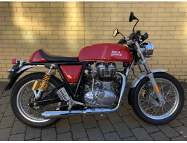 2017 ROYAL ENFIELD CONTINENTAL GT E4