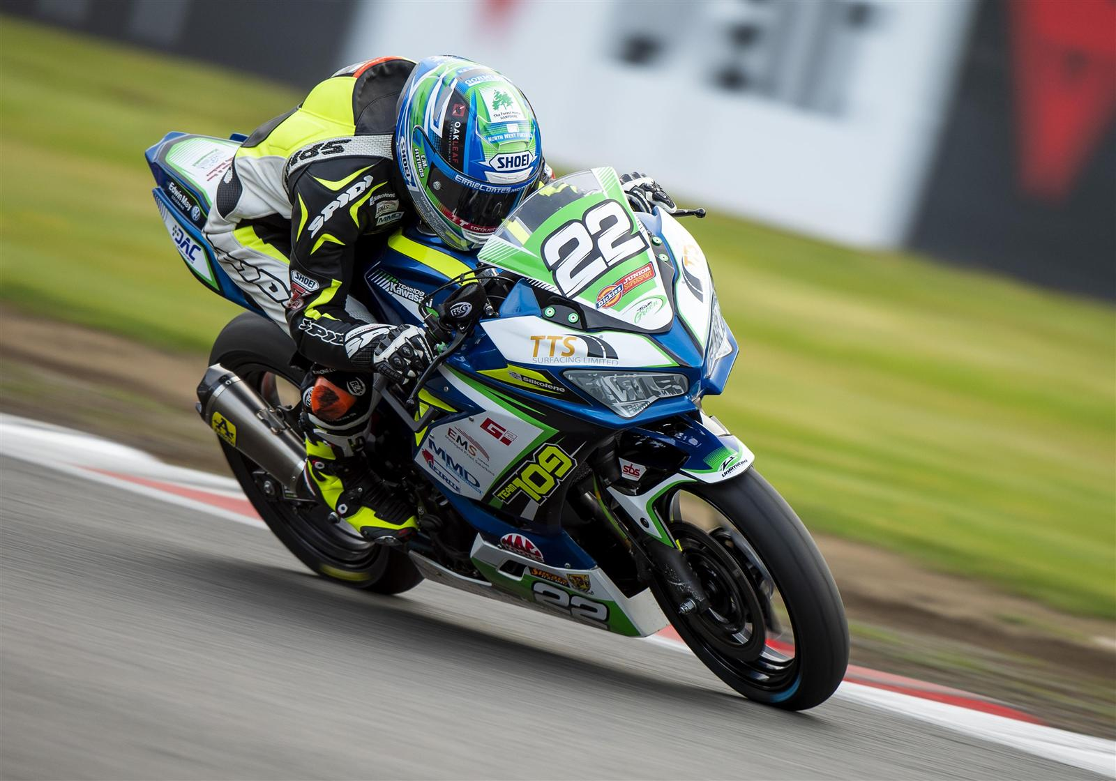 Team Green Backing Confirmed For Team 109 Kawasaki In 2019 British Superbike Championship