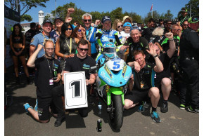 Award For Kawasaki At TT 2018
