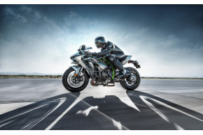 Kawasaki to RUN the Ninja H2R at Motorcycle Live