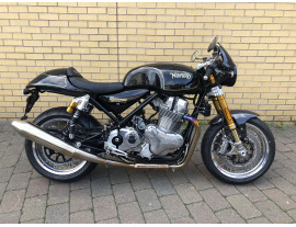 BRAND NEW & UNREGISTERED NORTON COMMANDO 961 CAFE RACER